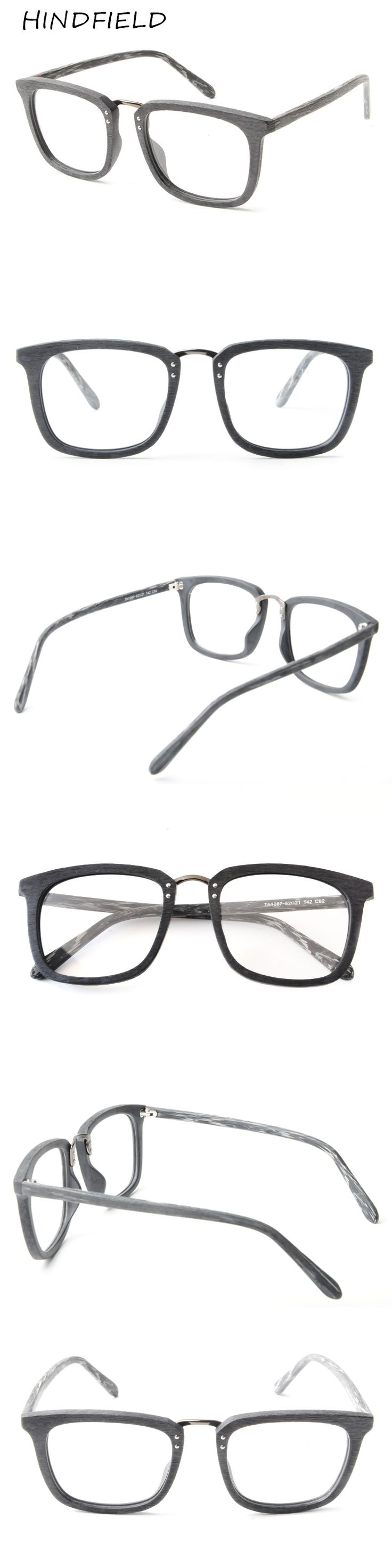 HINDFIELD 2017 New Eyeglasses Men Women Suqare Brand Designer Eyeglasses Frame Optical Computer Eye Glasses Frame oculos de grau