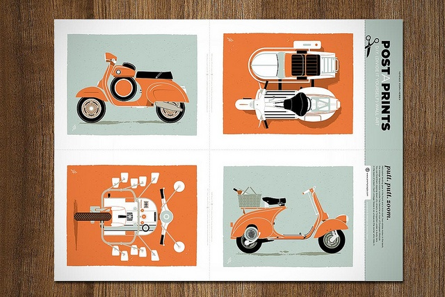 Vintage Vespa Prints by jeremyslagle, via Flickr: Design Inspiration, Vespas Illustrations, Art Inspiration, Graphics Illustrations, Art Design, Graphics Design, Design Inspriat Mod, Vintage Vespas, Vespas Prints