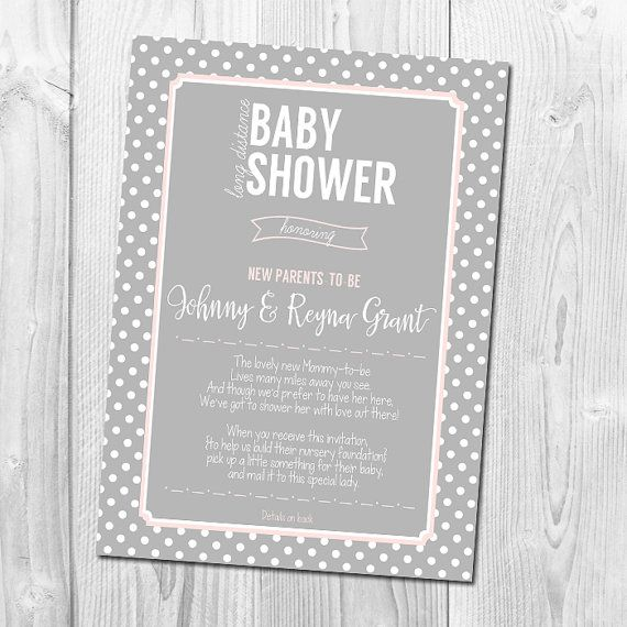 Long Distance Baby Shower Invitation by ...