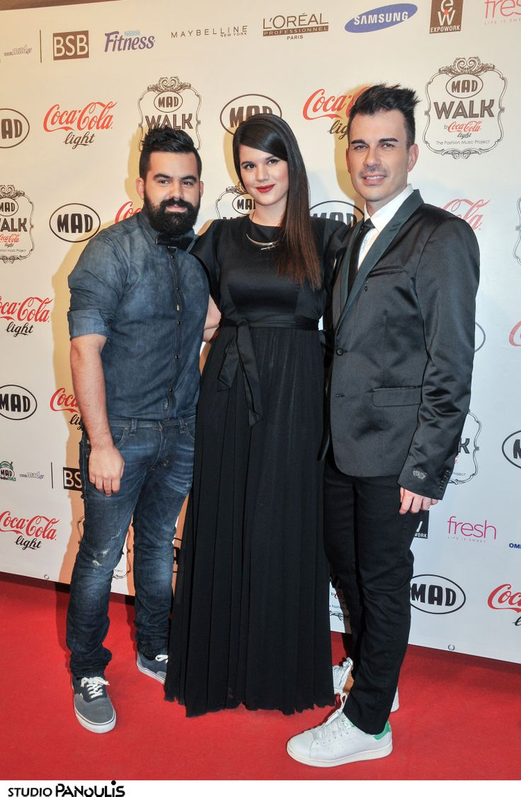 Foteini Korre on the #red_carpet in her #classic_black #BSB_dress