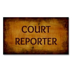 Court Reporting course study
