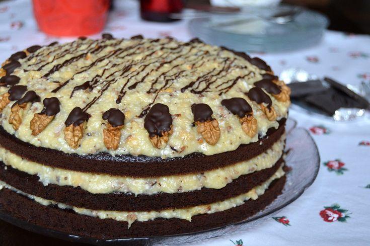 Немецкий торт — вкуснейшее лакомство с потрясающе нежным кремом. Очень вкусно и просто в приготовлении! - appetitno.net