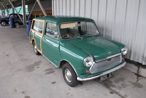 1968 austin mini countryman for sale by auction austin. Black Bedroom Furniture Sets. Home Design Ideas