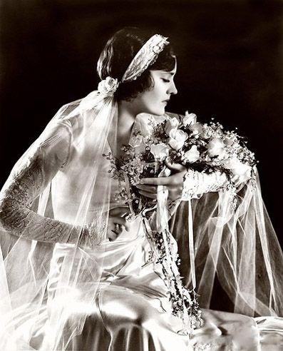 Bouquet della sposa anni '20