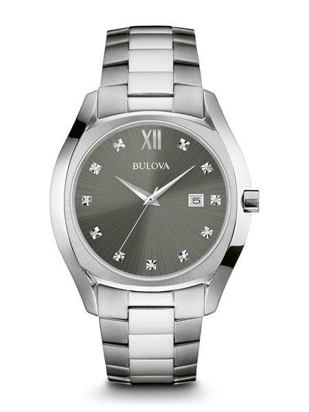Bulova 96D122 Men's Diamond Watch | Bulova