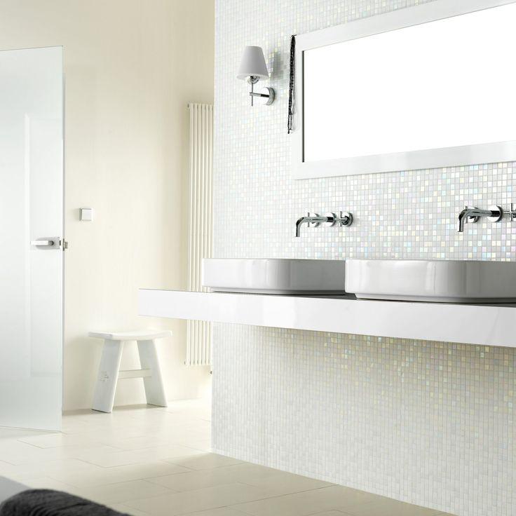 20 beste idee n over moza ek badkamer op pinterest badkamers familie badkamer en badkamer - Badkamer mozaiek grijs ...