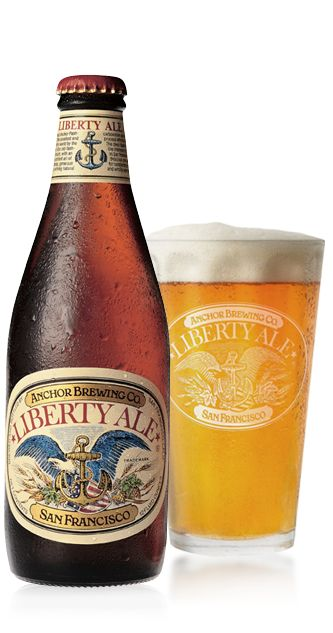 Anchor Brewing | Beers | Liberty Ale - Peachy, floral, hints of vanilla, bitter, and fruity. I cannot recall having a better APA. A very good and complex APA!