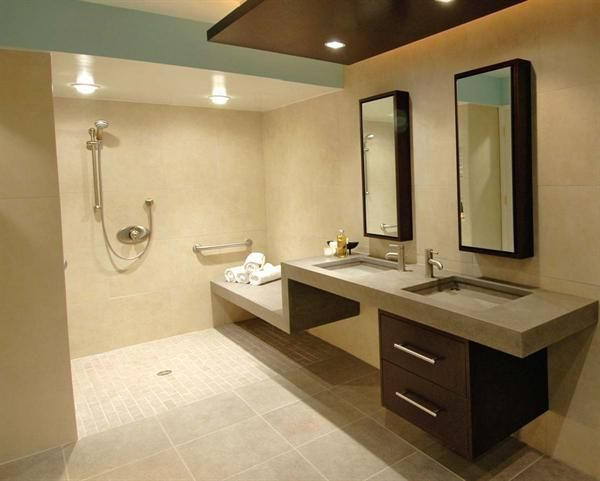 photos of handicap accessible residential bathrooms