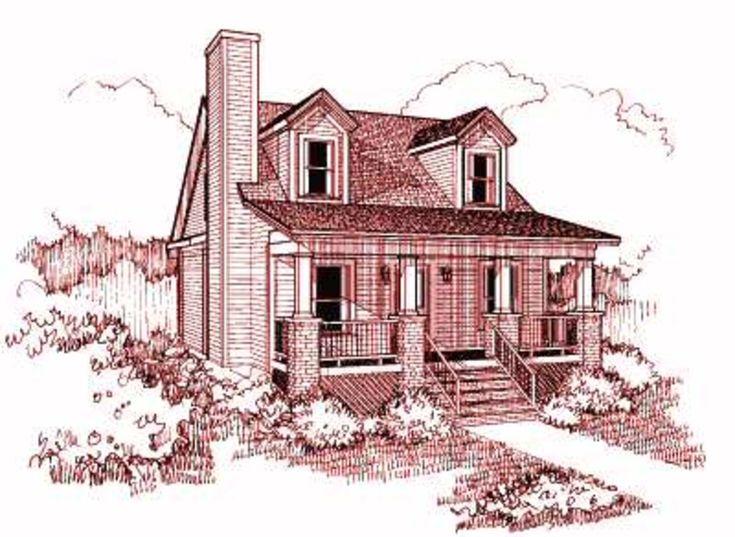 Petite cottage blueprints
