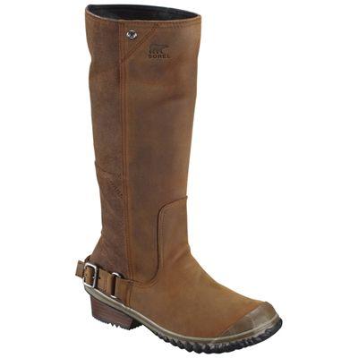 Sorel Nutmeg Coffee Bean Slim Women Boot ! Buy now at GetShoes.ca