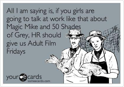 Haha from all the guys at work!!: Hearing, Humor Pinterest, Random Internet, 50 Shades, Fifty Shades, Funny Stuff, 50Shades, Random Pin, Fair