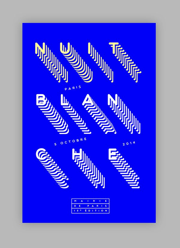 Nuit Blanche - 2014 on Behance
