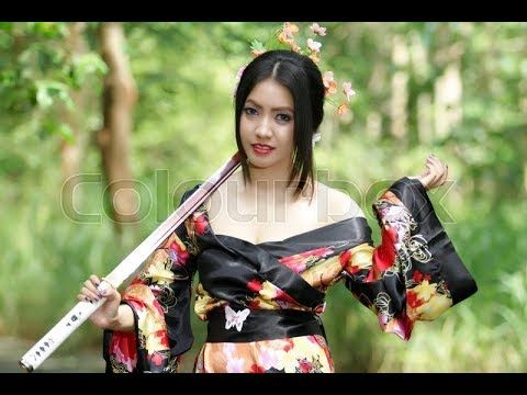 The most beautiful japan traditional geisha 芸者  dance 芸妓