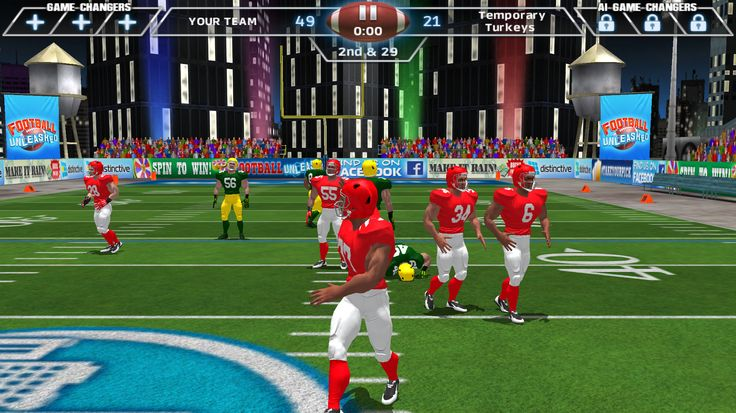 With the BOWL just around the corner, there's no better time to check out Football Unleashed JAMAAL CHARLES. In this extreme arcade football game you are the hero that drives your 5 players with simple tap and swipe controls. http://fnky.link/unleashed