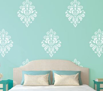 31 best Stencils Wall Decors images on Pinterest Stencils