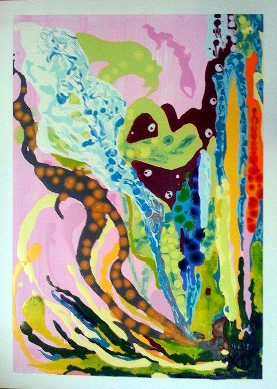 Viaggio Oil on Paper 46 x 65cm