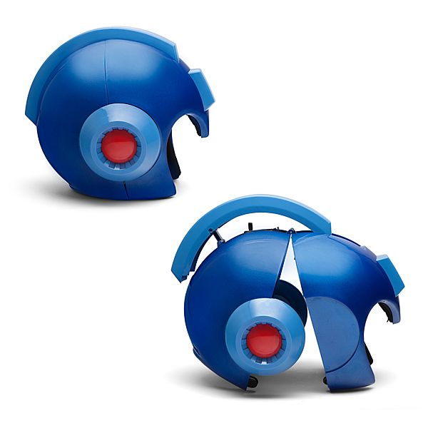 Wearable Mega Man Helmet: Scale Replica Additional Image