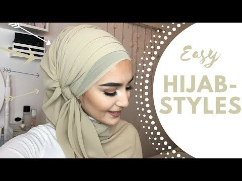 Easy Hijab Styles For Everyday Life - YouTube