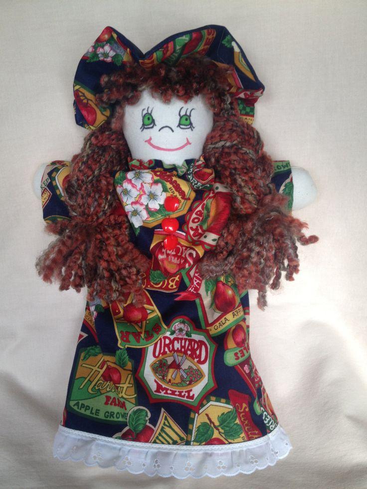 JenDoll #4 Handmade Rag, Cloth Doll by JenDolls on Etsy