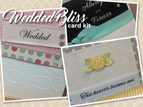 *****Wedded Bliss Card Kit