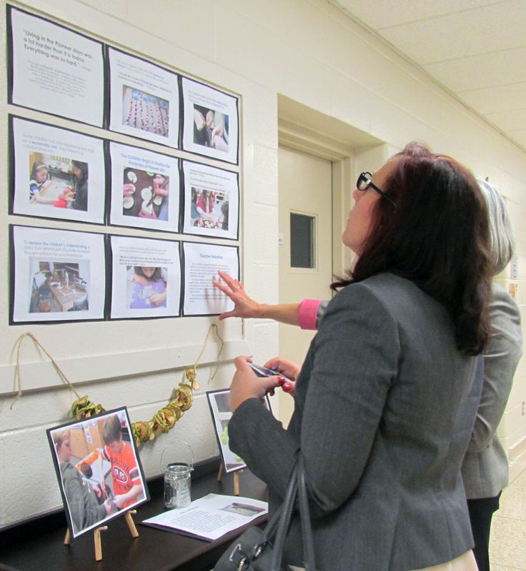 Viewing pedagogical documentation