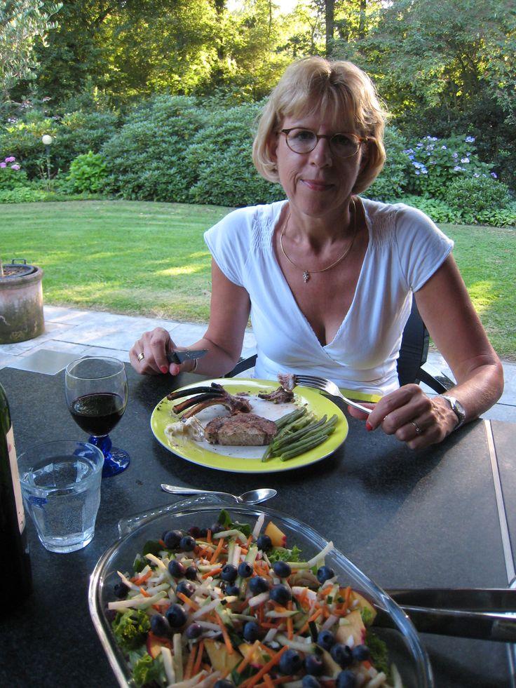Wat eet de professional? Diëtist Janet Noome.