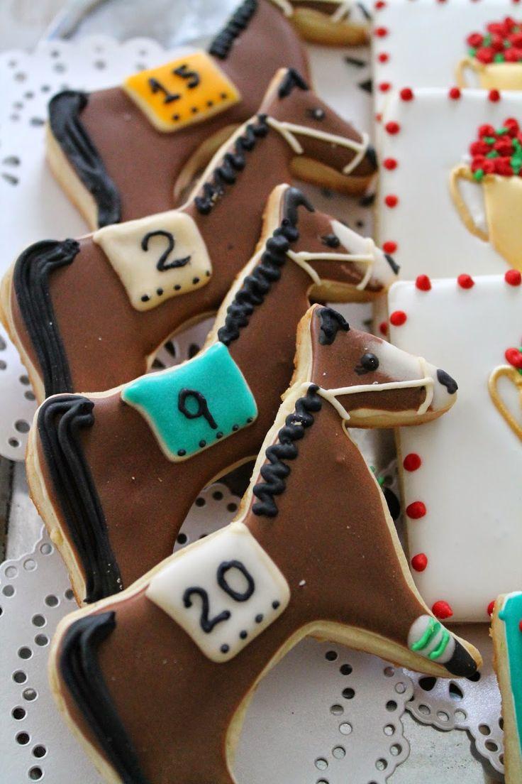 On your marks, get ready, set. GO!!! En sus marcas, listos, FUERA!! Derby horses, Caballos de carreras, Galletas de Caballos de carreras, Derby horses decorated cookies!!