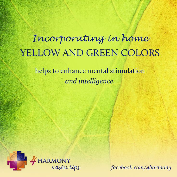Stimulate your mind and intellect with the power of vastu.