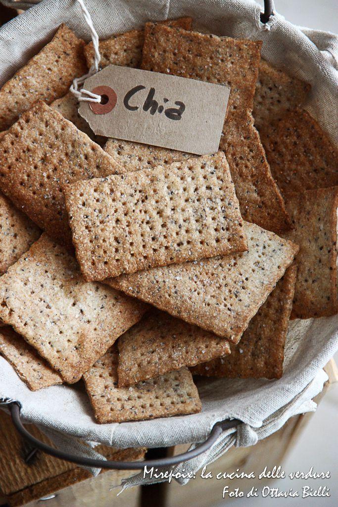 Cracker ai semi di chia
