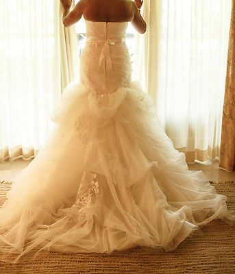 Vera-Wang-Wedding-Dress-VW351166-Large-10-12-Strapless-Mermaid-Ivory