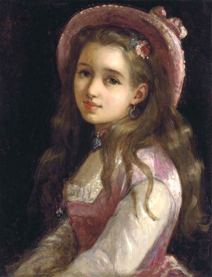 Young artist girl — 2