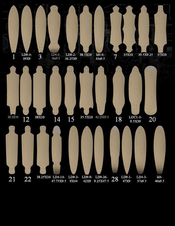 Custom Longboard Skateboards - Ghost Longboards Skateboard