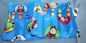 Thomas the Train Crayon Roll Favors