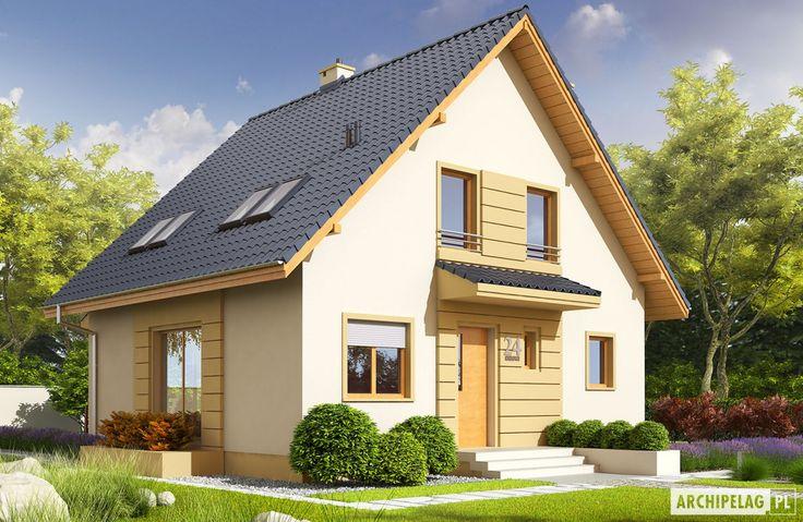 Projekty domów ARCHIPELAG - Adriana