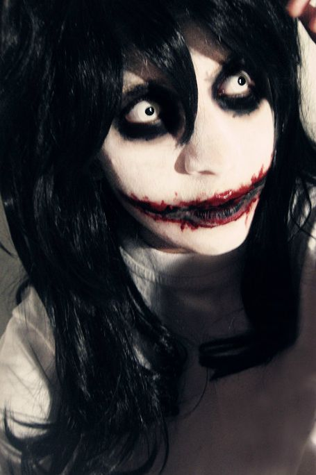 Jeff The Killer Halloween Makeup