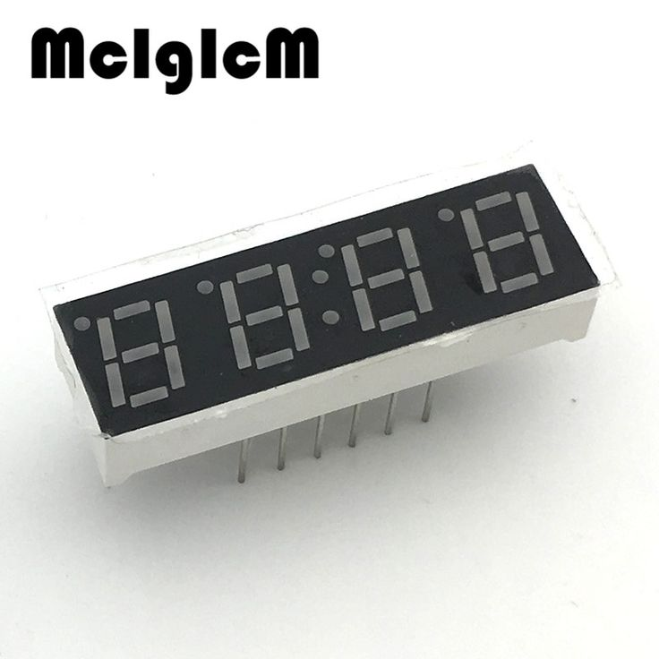 """E050-01 10pcs 7 segment common Cathode 4 Bit digital Tube 0.28"""" 0.28in. Red LED Display 7 segmentos LED Digital tube #Affiliate"""