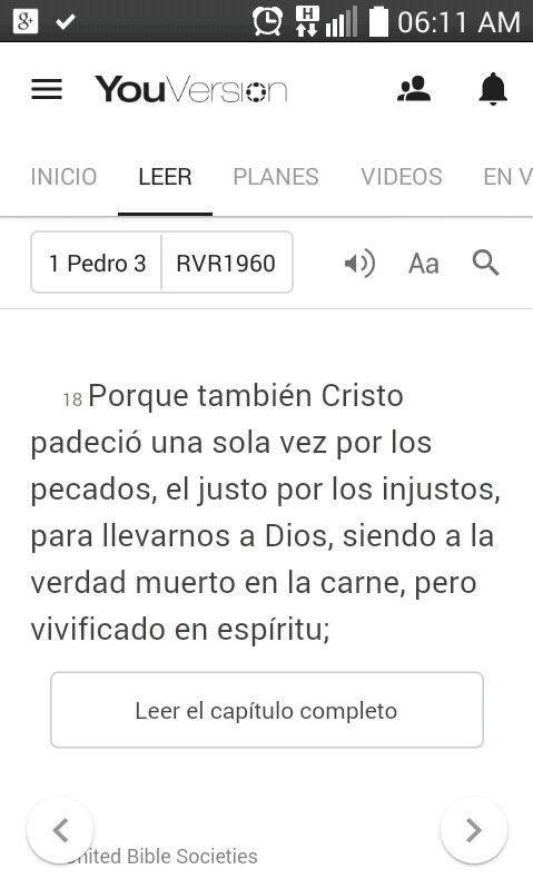 I Pedro 3:18