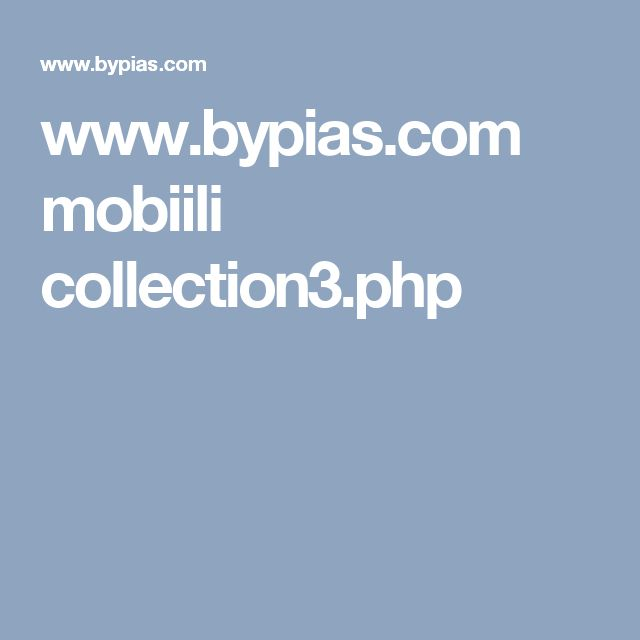 www.bypias.com mobiili collection3.php