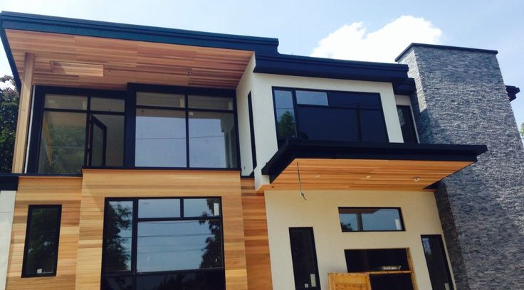 Cedar Eaves Makeover Contracting Complete Exterior Home