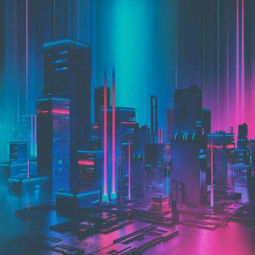 Color palette?   Cyberpunk aesthetic, Retro futurism, Neon ...