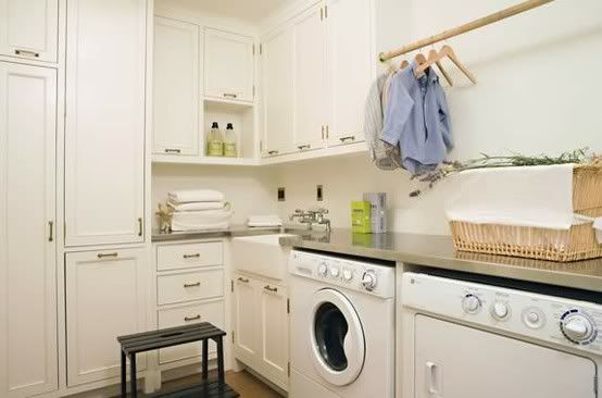 laundry room: Cabinets, Dreams Laundry Rooms, Laundry Rooms Storage, Architecture Interiors, Interiors Design, Laundry Rooms Design, Rooms Ideas, Storage Ideas, Stainless Steel