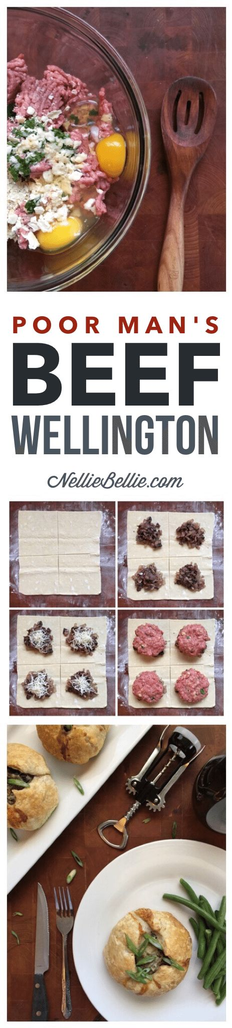 Skip the meat department case tonight and make Beef Wellington yourself! This is an easy and simple recipe using ground beef to keep it budget friendly!