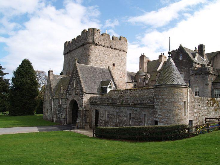 Drum Castle ~ Banchory, Scotland - The ancestral home. :)