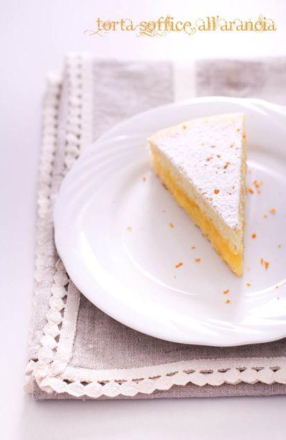 torta soffice all'arancia (provata! 8/10 portare lo zucchero della crema a 120 g )