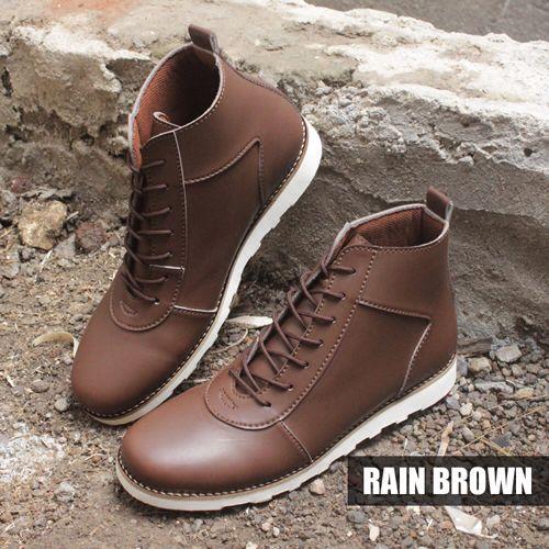 RAIN BROWN | IDR 350k | SMS KETIK NAMA_KODEBARANG_SIZE_ALAMAT kirim ke 08164218191  #sepatu #sepatuhandmade #sepatubandung #giantflames #joeythefootwear #ready #shoesholic #shoes #sepatucowo #boot #boots #zapato #footwear #menfootwear #streetfootwear #hipster #streetwear #lookbook