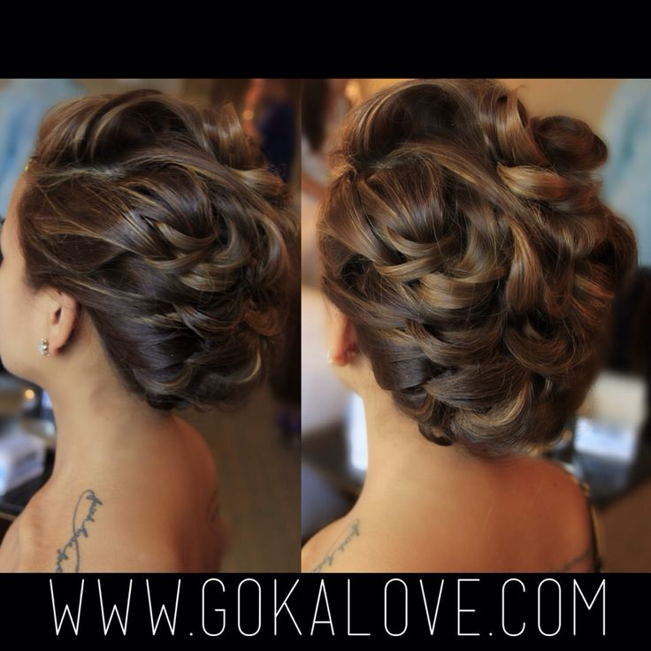 curly haircut boston bridal updo boston hairstylist massachusetts chignon 4718
