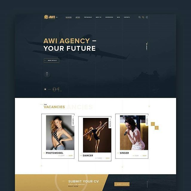 Editer Web Layout Design Web Design Inspiration Professional Web Design