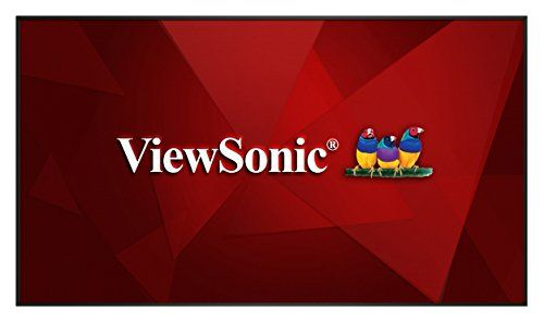 """ViewSonic CDP9800 98"""" Screen LCD Monitor. 98"""" (3840 x 2160). Ultra HD resolution. 4K video support in 2x2 daisy-chain. Reliable 24/7 continuous operation. Integrated USB multimedia player."""