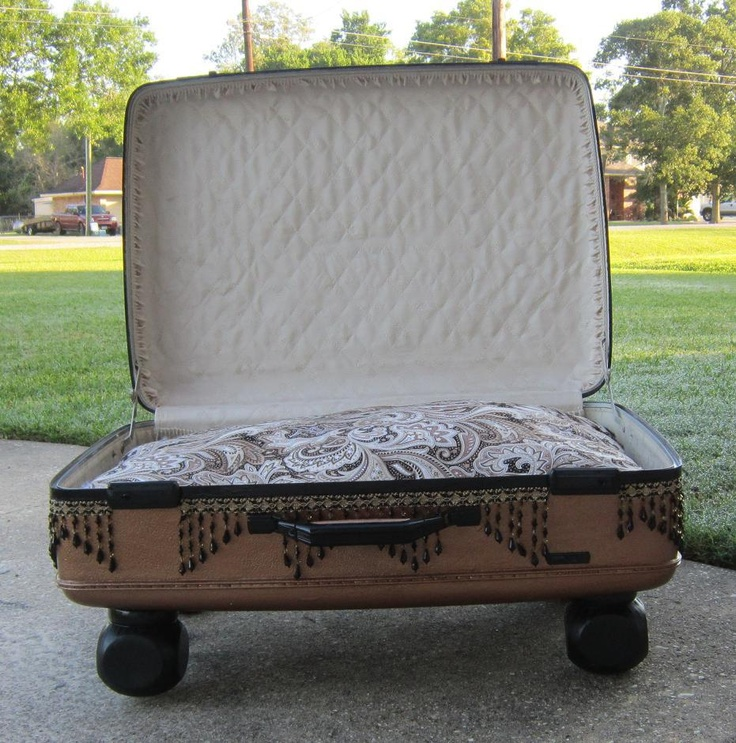 This is an extra large suitcase.