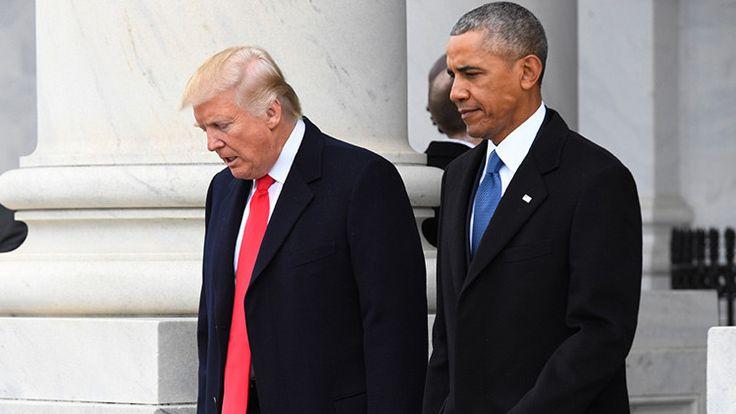 """""""Lo que hice yo debería haberlo hecho la Administración de Obama tiempo atrás"""", ha señalado Trump esta semana sobre el ataque contra Siria. Sin embargo, en 2013 su opinión era muy diferente."""
